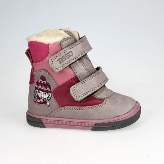 Asso LC-008-04 téli gyerekcipő 20-24 méretig