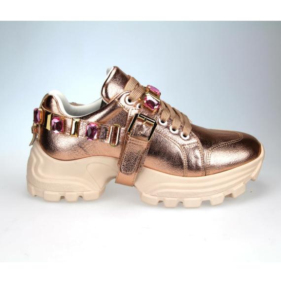 Seniorah 124-10 női port cipő