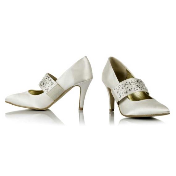 Greta menyasszonyi cipő